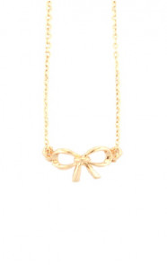 Inifinity-Necklace-Goud