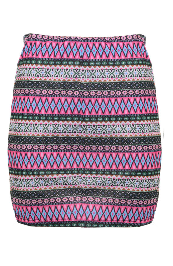 Aztec-Skirt-Pink-Musthaves