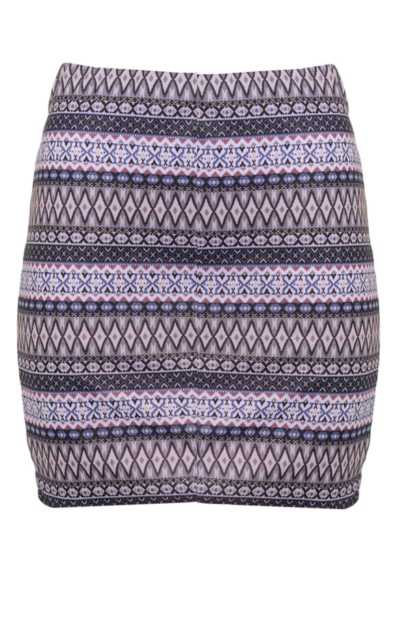 Aztec-skirt-Grey1