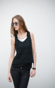 Lace-Top-Black