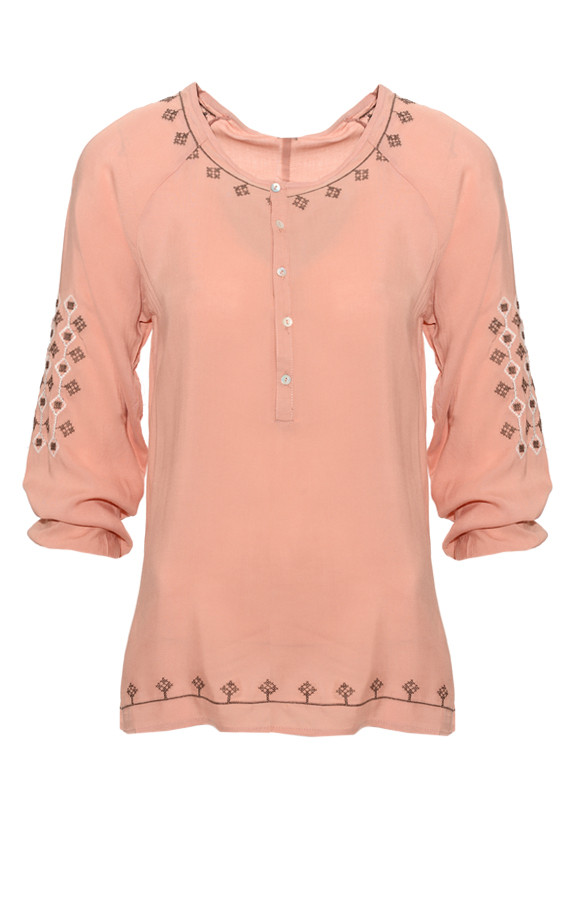 Luxury-Blouse-Peach