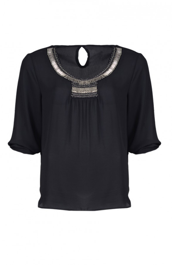 Majestic-Blouse-Black