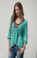 Majestic-Blouse-Turquoise