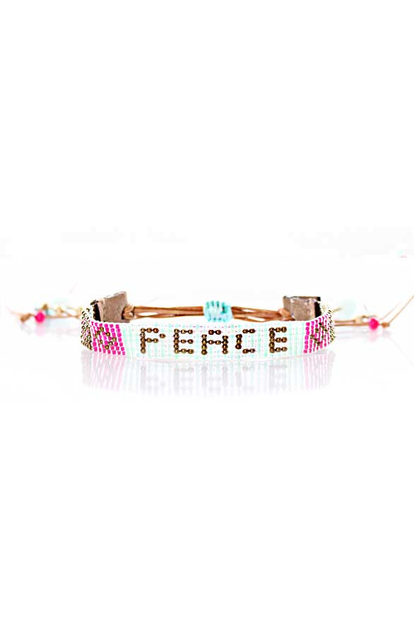 Peach-Bracelet-Leather
