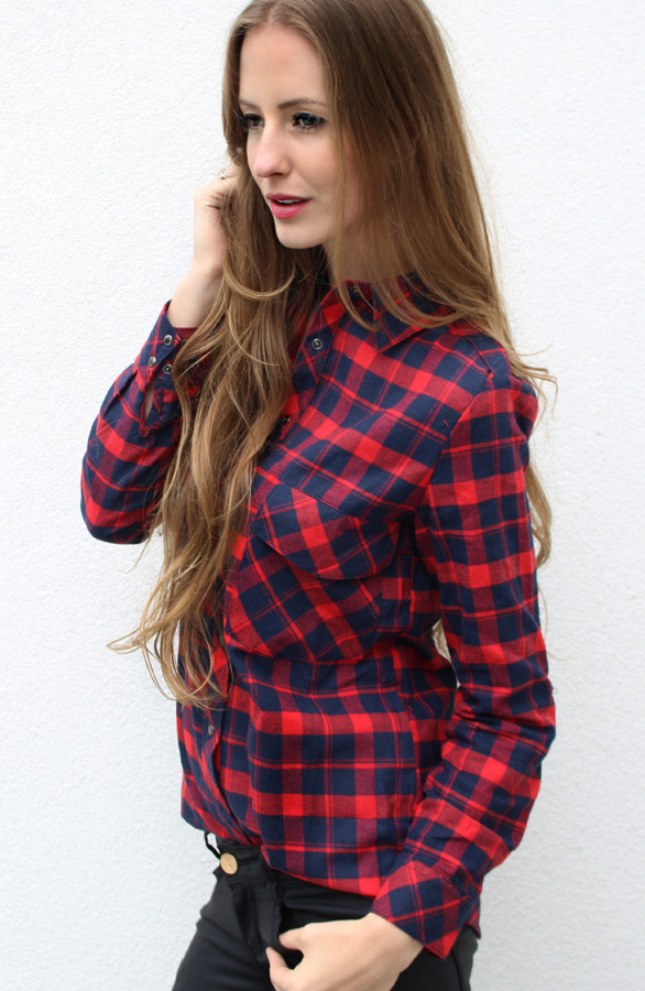 Quilted-blouse-rood