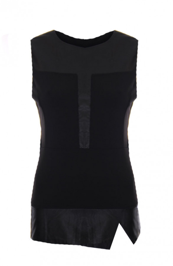 Peplum-Coating-Top