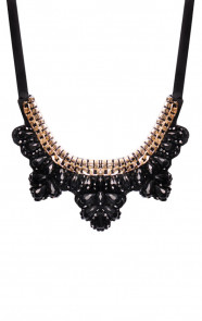 Statement-Ketting-Black-Shine