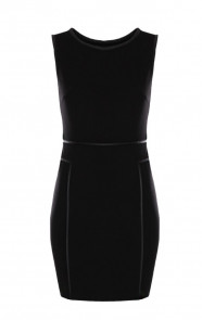 Coating-Dress-Black