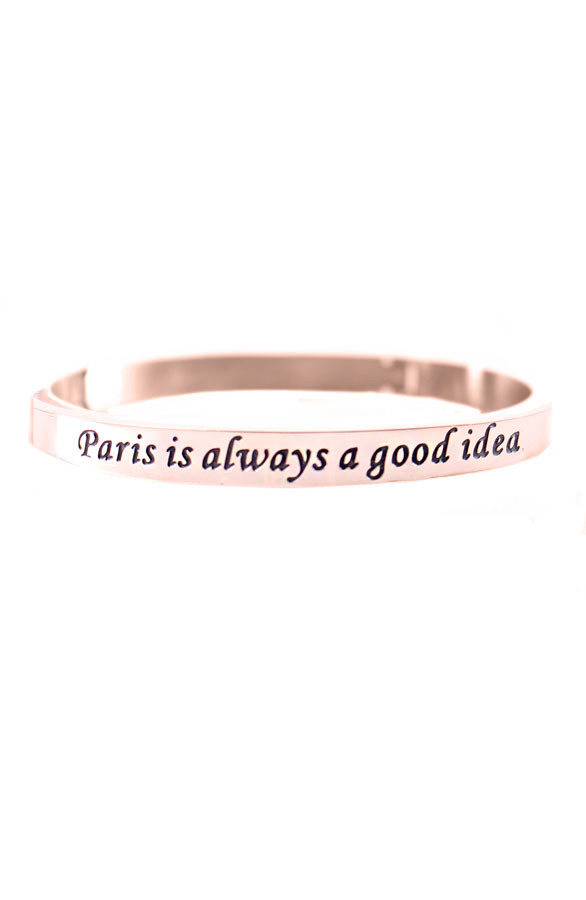Paris-Is-Always-A-Good-Idea-Rose-Armband