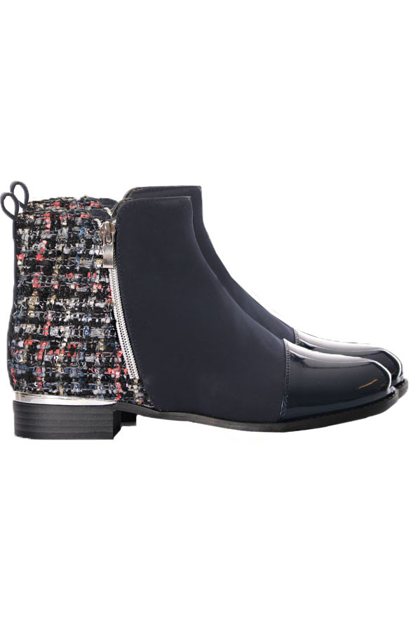 Musthave-Tweed-Boots-Blue