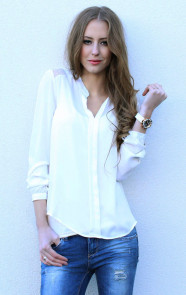Blouse-wit-dames-online