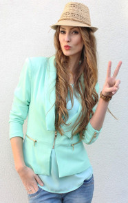Musthave-Mint-Blazer