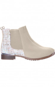 Musthave-Tweed-Boots-Beige