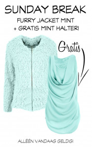 Sunday-Break-Furry-Mint-GRATIS-Halter