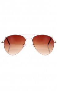 Aviator-Brown-Zonnebril