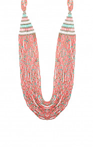 Boho-Necklace-Coral