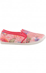 Lace-Flower-Slip-On-Coral