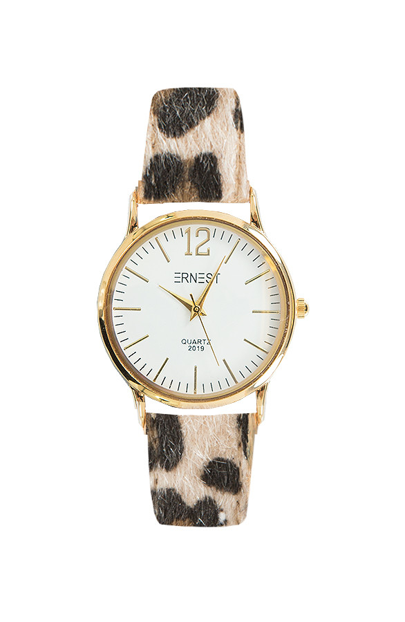 Leopard-Watch-Gold