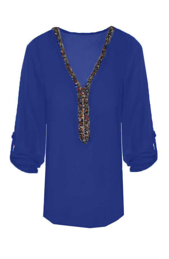 Gemstone-Blouse-Navy1
