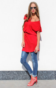 musthaves-blouse-rood-dames-online