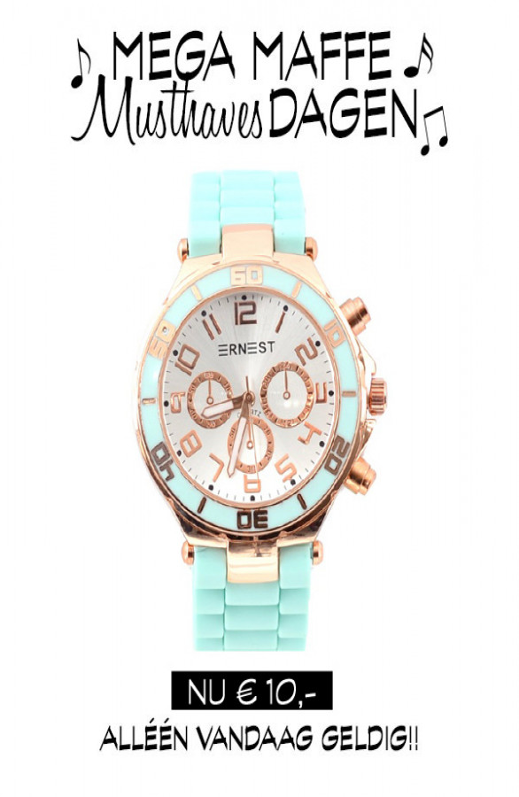 Mega-Maffe-Musthaves-Dagen-Mint-Watch