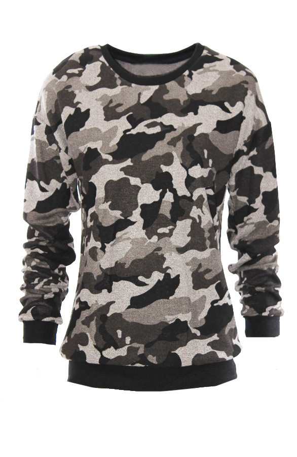 Camouflage-Sweater-Grey