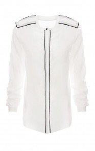 Creased-Blouse-White