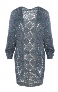 Knitted-Cardigan-Blue