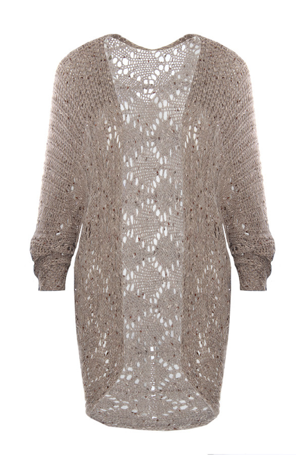 Knitted-Cardigan-Taupe