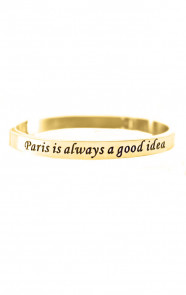 Paris-Is-Always-A-Good-Idea-Goud-Armband