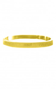 Be-Strong-And-Courageous-Gold