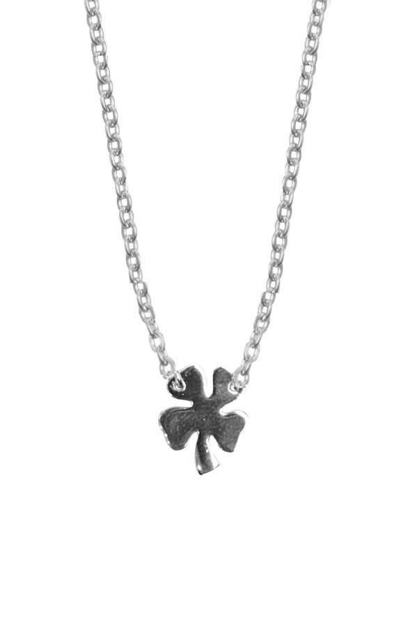 Fine-Necklace-Clover-Silver