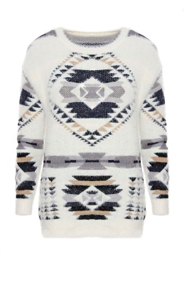 Lovely-Aztec-Sweater-Creme