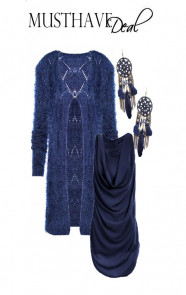 Musthave-Deal-Fluffy-Navy
