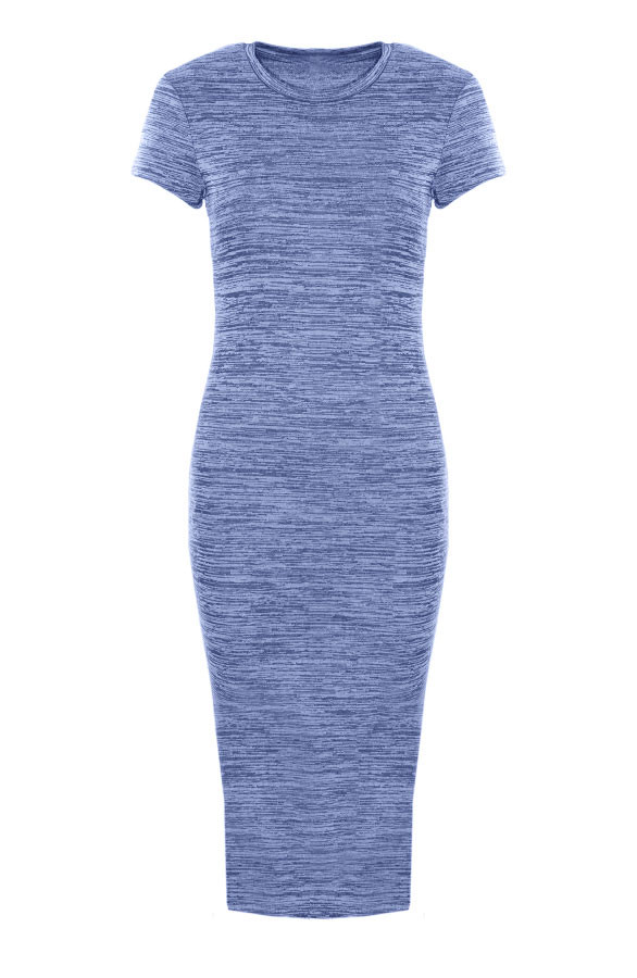Pencil-Dress-Blue