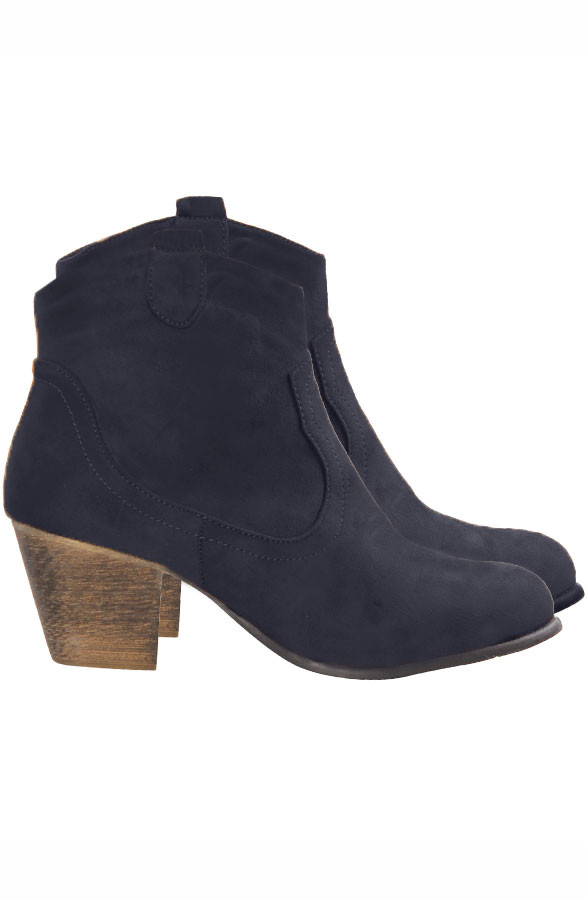 Suede-Booties-Blue