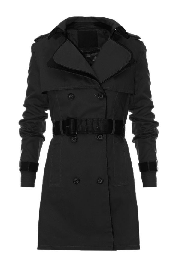 Trenchcoat-Black