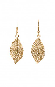 Leaves-Oorbellen-Gold