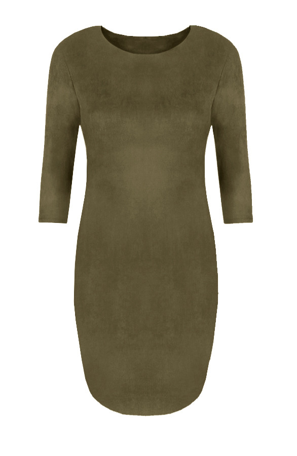 Suede-Jurk-New-Army