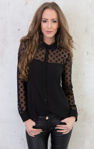 stippen-blouse