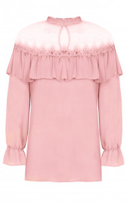 Luxury-Marant-Blouse-Roze