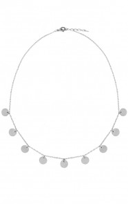 Coins-Ketting-Minimal-Zilver