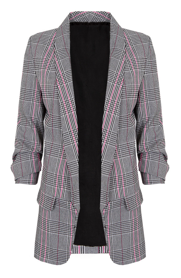 Blocking-Blazer-Fuchsia