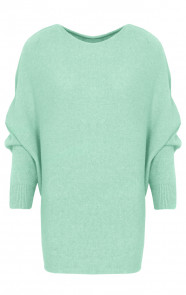 Oversized-Soft-Trui-Mint