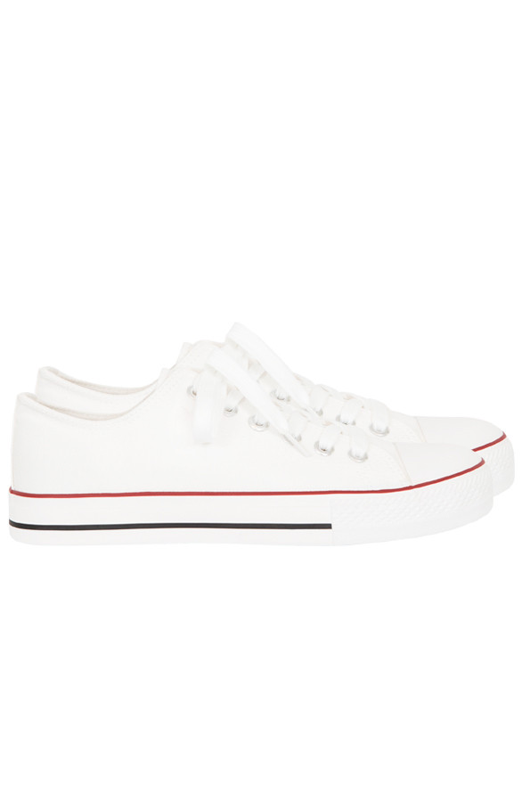 Canvas-Sneakers-Wit