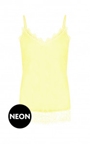 Romance-Lace-Top-Neon-Geel