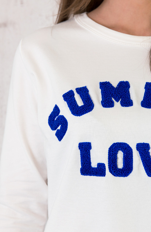 Summer Love Trui Kobalt | Themusthaves.nl