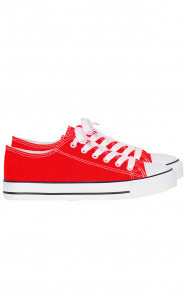 Canvas-Sneakers-Rood