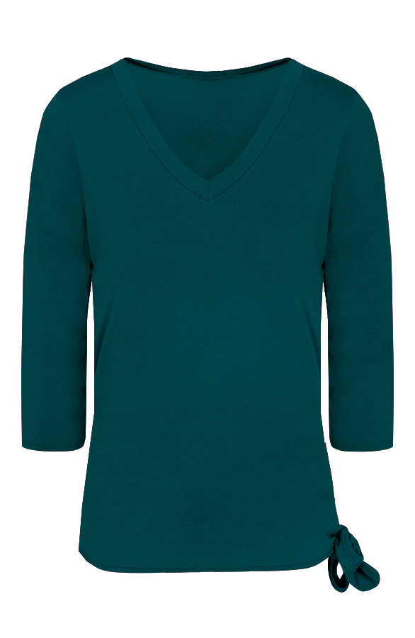 Basic-Strik-Shirt-Groen