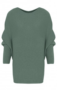 Oversized-Soft-Trui-Legergroen